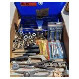 Snap On & Blue Point Lot with Metric Tap & Die Set