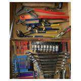 Vice Grips, Power Bits, Sockets, Wrench Set etc
