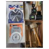 New Saw Blades, Hammers, Tape & More
