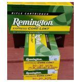 3 Boxes Remington 30-30 Winchester.170 Gr plus etc
