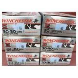 6 Boxes Winchester 30-30 150 Grain Ammunition