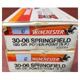 2 Boxes Winchester 30-06 Springfield Power Point