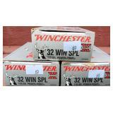 3 Boxes Winchester 32 Winchester Special 170 Grain