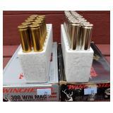 Winchester 300 Win Mag Supreme Plus Partial Box