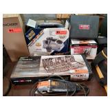 Group: Snap On Vacuum Tester, Rockwell Grinder etc