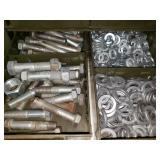 Massive Assortment of Nuts, Bolts, Washers & More