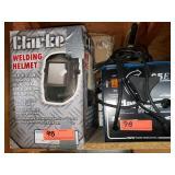 Clarke 95E Welder & Welding Helmet
