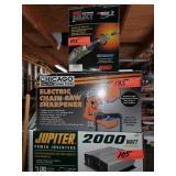 Chainsaw Sharpener, Jupiter 2000 Power Inverter ++