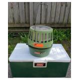 Coleman 513B Catalytic Heater & Coleman Cooler