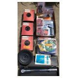Lawn Mower Wheels, Multimeter, Torque Wrench etc