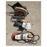 Porter Cable Jig Saw, Disc Sander, Circular Saw