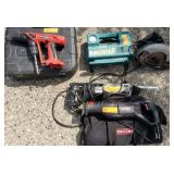 Mansfield 3/8 Dual Drill, Reciprocating saws etc.
