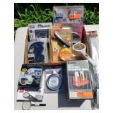 Sony Ear Phones, Solar Fan, LED Light Module etc