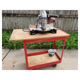 Chicago Mitre Saw with Cart