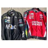 Pair of NASCAR Jackets! Signed by Roush & Edwards