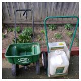 Scotts Fertilizer Spreader & Chemical Sprayer