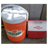 Gatorade 10 Gallon Dispenser with Igloo Cooler