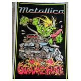 Metallica Velvet Art Poster