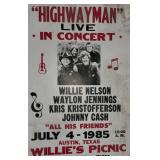 Highwayman Concert Broadside