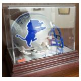 3016: Detroit Lions Mini Helmet Billy Sims