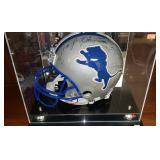 3029: Detroit Lions Multi Signed Full Size Helmet with Desmond Howard
