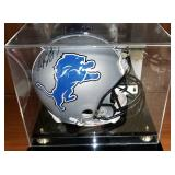 3033: Detroit Lions Calvin Johnson Signed Football Helmet