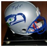 3036: Seattle Seahawks Steve Largent Signed Football Helmet