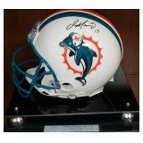 3043: Miami Dolphins Dan Marino Signed Full-Size Football Helmet