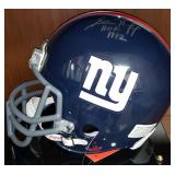3047: New York Giants Sam Huff Signed Football Helmet