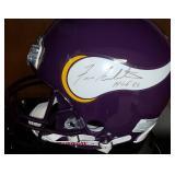 3052: Minnesota Vikings Fran Tarkenton Signed Full Size Helmet