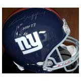 3054: New York Giants, Frank Gifford Autographed Full Size Helmet