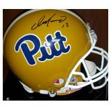 3055: Pittsburgh Panthers, Dan Marino Signed Full Size Helmet