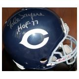 3063: Chicago Bears Gayle Sayers Signed Full-Size Football Helmet