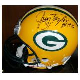 3066: Green Bay Packers, Jim Taylor Signed Full-Size Helmet