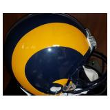 3067: LA Rams Full-Size Football Helmet