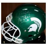3069: Michigan State John L. Smith Autographed Football Helmet