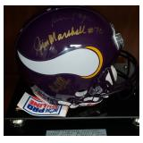 3071: Minnesota Vikings Multi Signed with Fran Tarkenton
