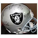 3074: Oakland Raiders Multi Signed Helmet with Ken Stabler