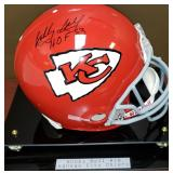 3079:Kansas City Chiefs Bobby Bell Signed Football Helmet