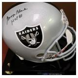 3083: George Blanda Oakland Raiders Signed Full-Size Helmet