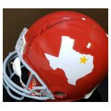 3084: Len Dawson Autographed Full-Size Helmet