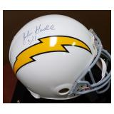 3086: San Diego Chargers John Hadl Signed  Football Helmet