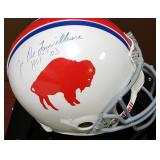 3087: Buffalo Bills, Joe DeLamielleure Signed Football Helmet