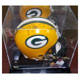 3088: Green Bay Packers Brett Favre Signed Full-Size Helmet