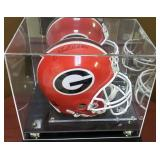 3091: Georgia Bulldogs, Hershel Walker Signed Full Size Helmet