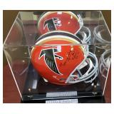 3092: Atlanta Falcons Tommy Nobis Signed Full Size Helmet