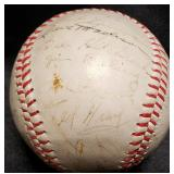 3130: Vintage Detroit Tigers Signed Basebal