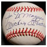 3127: New York Yankees, Joe DiMaggio and Mickey Mantle