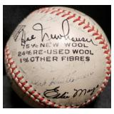 3117: 1947 Detroit Tigers Team Signed Baseball