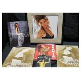 3161: Shania Twain Autographed Photo with Tour Books